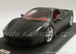 458 spider roof mr collection fe06htb 458 spider roof closed nero opaco 1 18