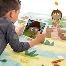 Kids Jungle Rug by Spin Tales Spintales Twitter