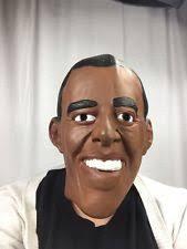 Barack Obama Halloween Costume Barack Obama President Face Mens Funny Halloween Vinyl