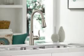moen haysfield kitchen faucet moen 7594e single lever pull kitchen faucet with 7 7 8 inch