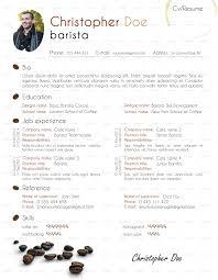 Starbucks Duties On Resume Barista On Resume Free Resume Example And Writing Download