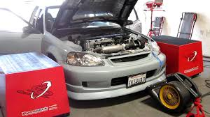 bisimoto wagovan bisimoto tuning of k24 powered street ek youtube