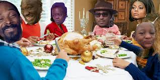 thanksgiving with black families home