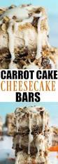carrot cake cheesecake bars house of yumm