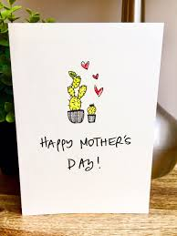mother u0027s day card simple mothers day card funny mothers day card