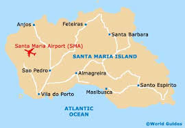 map of santa map of santa airport sma orientation and maps for sma