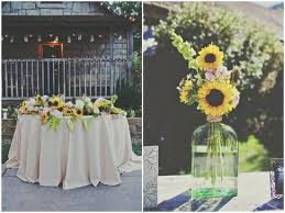 table centerpieces with sunflowers table centerpieces with sunflowers images sunflower wedding
