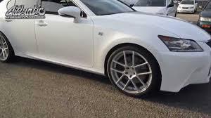 lexus north miami tires 2015 lexus gs350 f sport with avant garde wheels u0026 nitto tires
