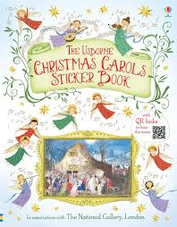 carols sticker book at usborne books at home organisers