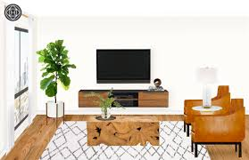 contemporary classic glam living room design by havenly interior view brianna s profile