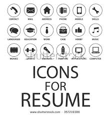 Computer Help Desk Resume Help Desk Resume Icons For Education Cv Icon Stock Images