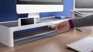 Charging Station Shelf Soto Technology Solutions U0026 Desk Shelf Steelcase