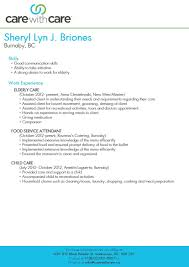 childcare resume examples sample resume for caregiver resume cv cover letter sample resume for caregiver personal care assistant resume sample resume of caregivers samples vosvetenet resume proffesional