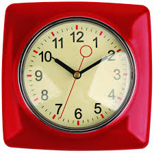 kitchen clocks modern retro kitchen wall clock red unique kitchen clocks home design ideas