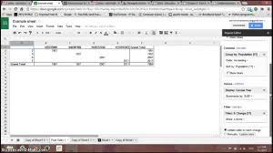Google Spreadsheet Free Pivot Table Reports In Google Spreadsheets Youtube