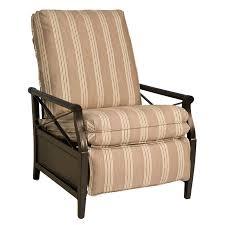 Woodard Patio Furniture Cushions - woodard andover cushion recliner hayneedle