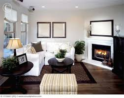 Living Room Furniture Layout With Corner Fireplace How To Decorate A Small Living Room With A Fireplace 1000 Ideas