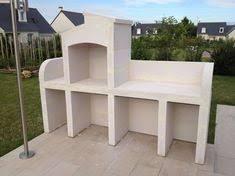 cuisine d ete en beton cellulaire construire un barbecue en béton cellulaire barbecue bars