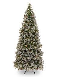 7ft christmas tree 6ft liberty pine slim decorated feel real artificial christmas