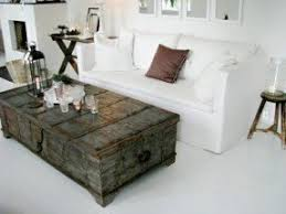 Distressed Coffee Tables by Distressed Trunk Coffee Table Foter