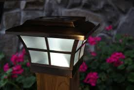 4x4 solar post lights solar post cap lights 4 4 into the glass using solar light post