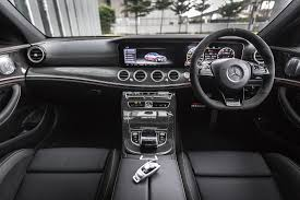 mercedes dashboard 2017 mercedes amg e63 s 4matic roars onto malaysian soil only rm998