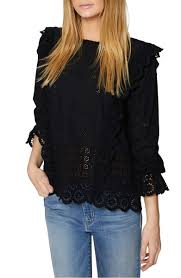 ruffle blouses chic ruffle blouses on trend for 2018 candie