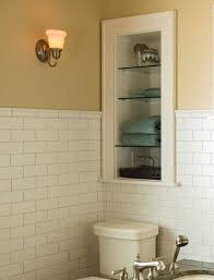 excellent bathroom wall shelving units with lightweight materials