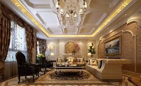 3d luxury living room design european classical style 3d house
