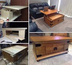 lift top coffee table plans diy lift top coffee table writehookstudio com