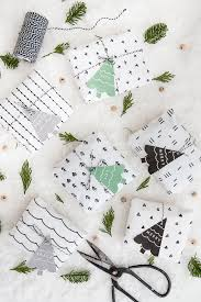 beautiful wrapping paper diy scandinavian pattern wrapping paper free printable gift tags