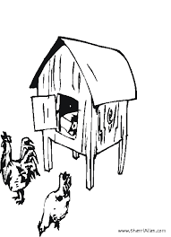 dog house coloring pages free farm coloring pages from sherriallen com