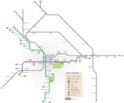 Noida Metro Route Map by Bengaluru Commuter Rail Wikipedia