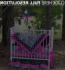 Miniature Crib Bedding New Zebra Polka Dot Mini Crib Or Porta Bedding Set Compact