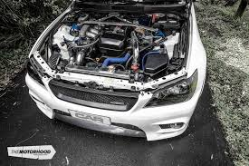 altezza car black white noise remo grand s turbocharged altezza the motorhood