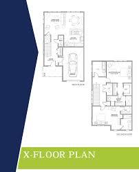 cluster home floor plans floorplans the bluestone community