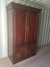 Entertainment Armoire With Pocket Doors Tv Armoire Ebay