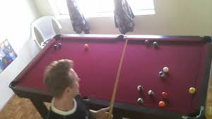 7 Foot Pool Table My Cheap Pool Table Youtube