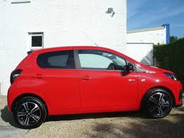 peugeot 108 used cars used 2017 peugeot 108 puretech gt line 5dr for sale in
