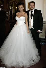 wedding dress prices price is back in a wedding dress as she glams it up with