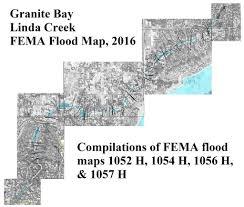 Fema Flood Maps Granite Bay Linda Creek Fema Flood Maps Imk