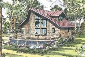 Large Log Cabin Floor Plans Sylvan 30 023 A Frame House Plans Cabin Vacation