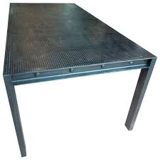 steel top dining table pin by anne on office ideas pinterest dining room table steel