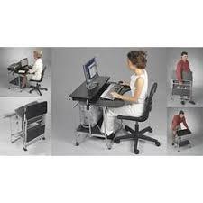 Fold Up Desk Chair Laptop Desks And Laptop Carts Organize It