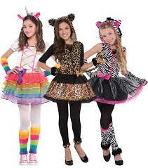 girls cute animal fancy dress halloween storybook kids childrens