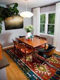 eclectic dining room tables rectangular white finished wooden