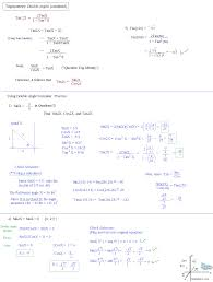 Partial Sums Worksheets Math Plane Trig Identities Ii Double Angles