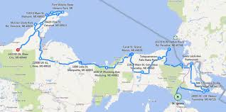 map of calumet michigan michigan s fabulous peninsula motorcycleroads org