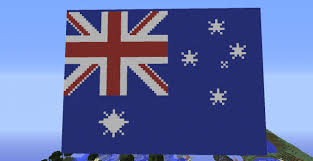 Australia Flags Australian Flag Schematic Minecraft Project