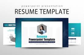 powerpoint resume template resume powerpoint template presentation templates creative market
